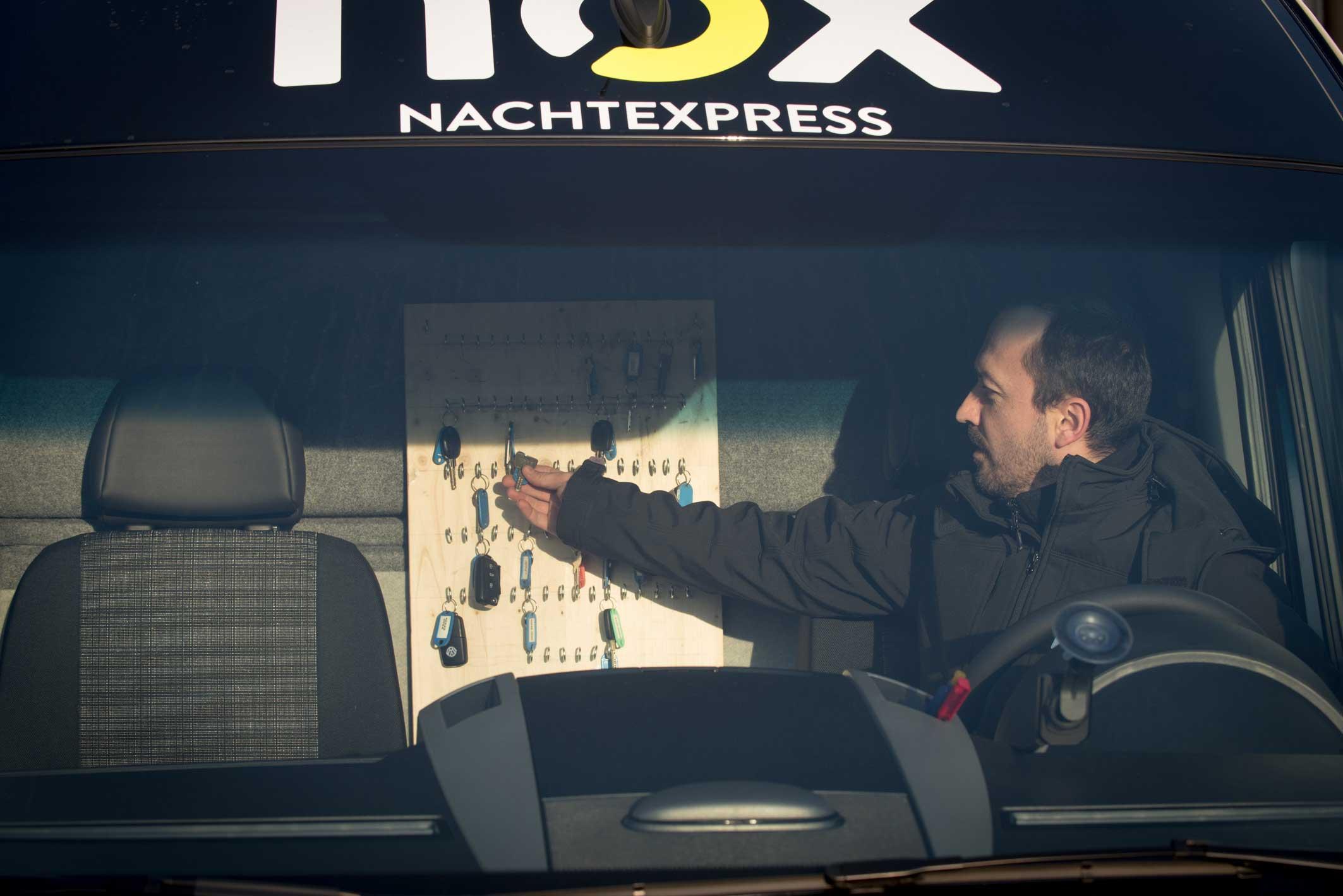 Pilotprojekt: Schlüssellose Kofferraumbelieferung mit nox NachtExpress