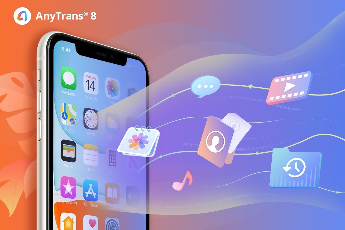 Für die Übertragung auf das iPhone 11 (Pro) ist nur ein einfacher Klick mit AnyTrans 8 erforderlich