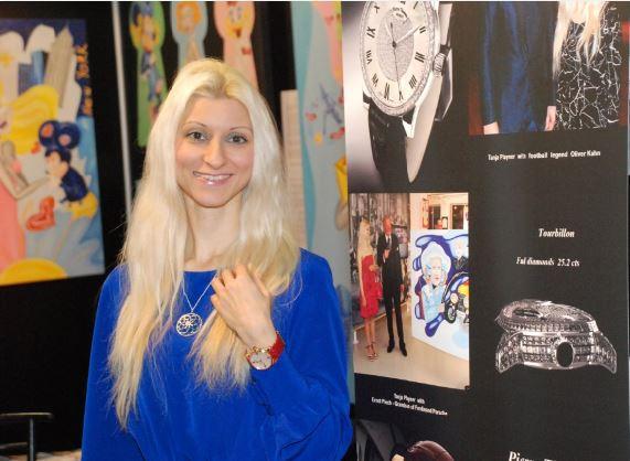 PAKS Gallery präsentierte berühmte Künstlerin Tanja Playner in Wien