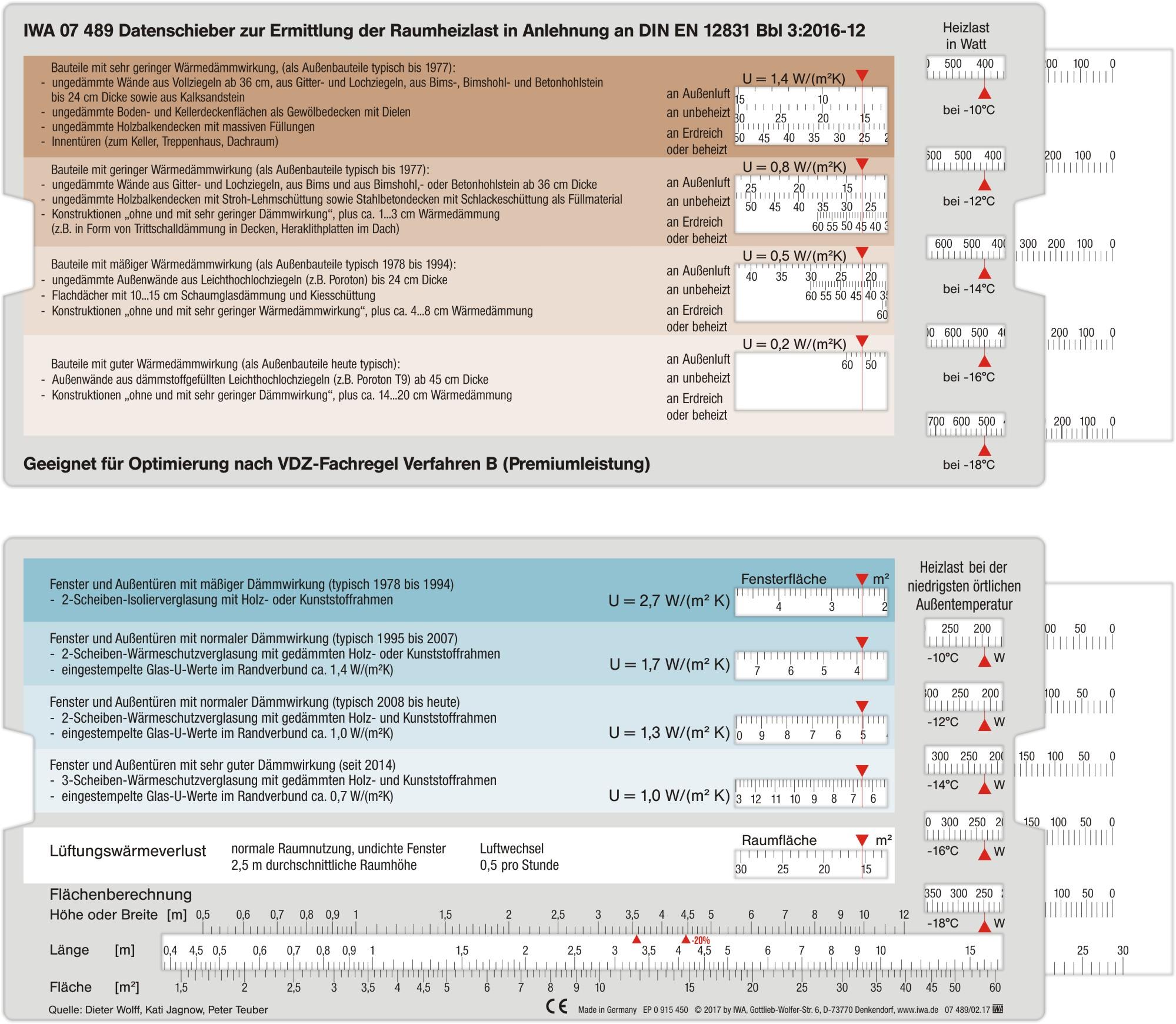 Neuheit: Neuer Datenschieber zur Heizlastermittlung IWA 07489