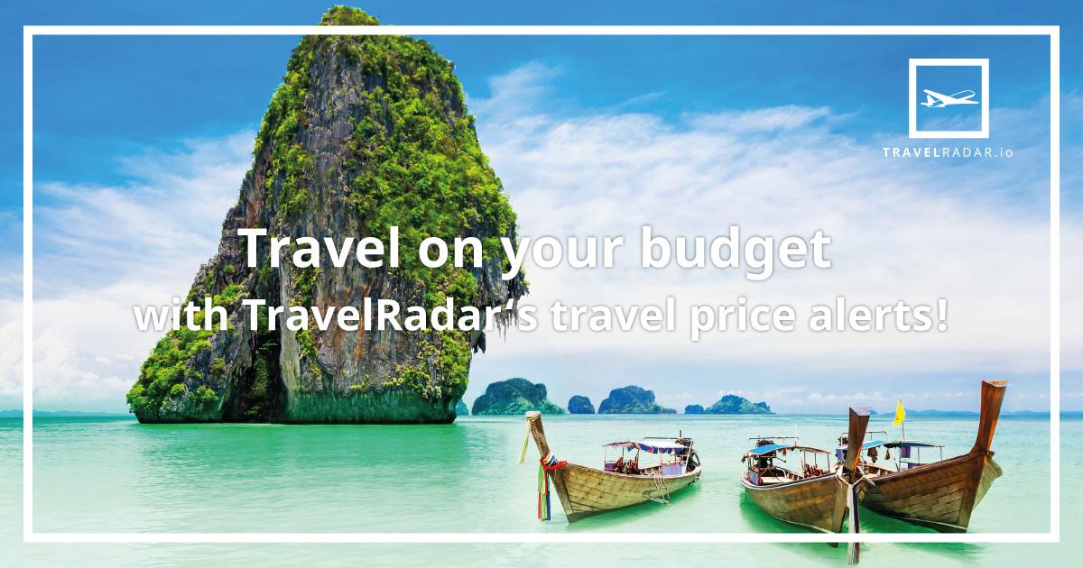 Mit personalisiertem Reisepreis Alarm günstig reisen