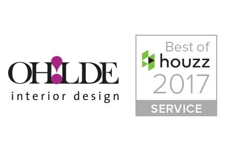 """""""Best of Houzz""""-Award 2017 für OHLDE- Interior Design"""