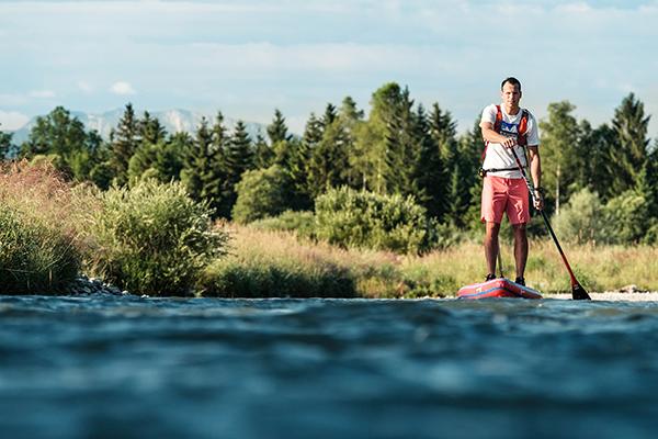 2.500 Kilometer auf dem Stand-up-Paddle Board