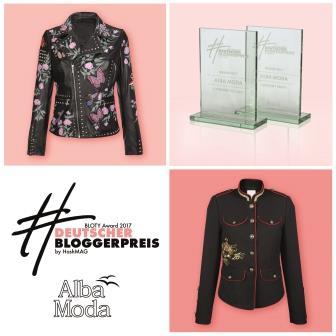 ALBA MODA: Gleich 2 Awards beim Deutschen Bloggerpreis