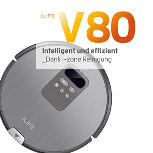 ILIFE bringt innovativen Saug- und Wischroboter V80 auf den deutschen Markt