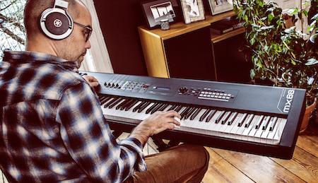 Yamaha MX-Flaggschiff: Synthesizer MX88 bringt legendäre Sounds ins Home-Studio und Live-Setup