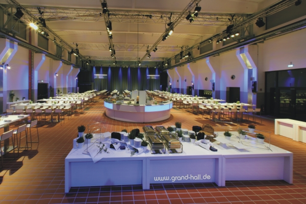 "Eventlocation: ""Grand Hall ZOLLVEREIN"" Essen – Metamorphose der Zeche Zollverein"