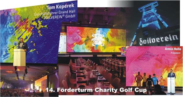 GRAND HALL – ZOLLVEREIN Essen, Förderturm – 14. Golf Cup Charity
