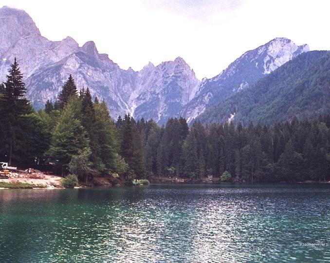 Verwunschene Seen und Berglandschaften s#xFCdlich der Tauern