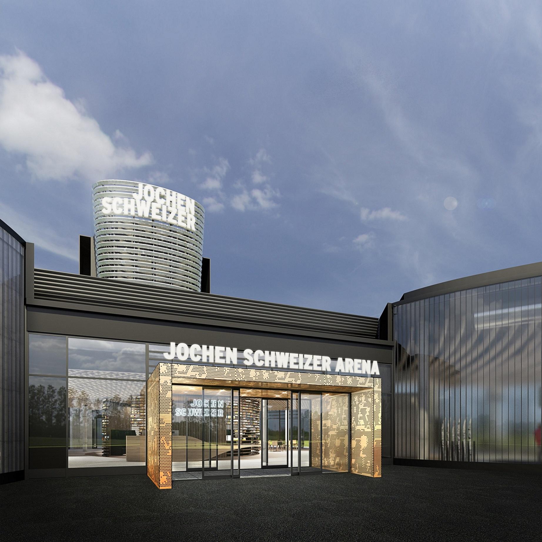 Jochen Schweizer Arena eröffnet am 4. März 2017