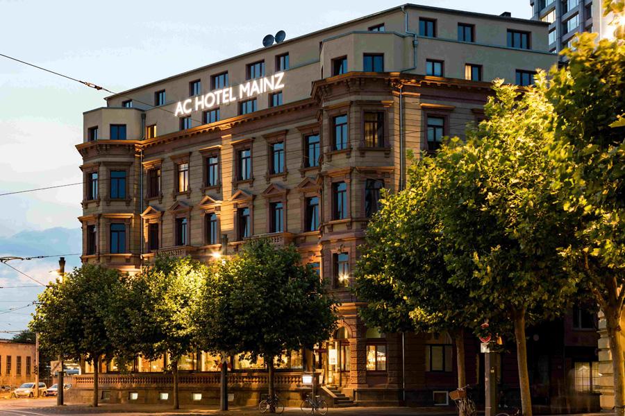 AC Hotel by Marriott Mainz: Lifestyle-Marke eröffnet am Mainzer Hauptbahnhof