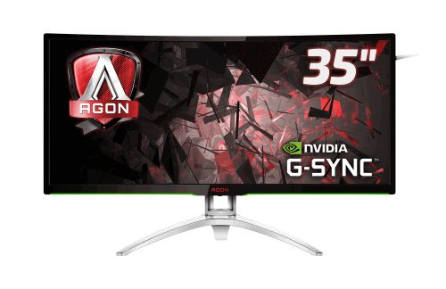 Immersion neu definiert:  AOC AGON 35″-UltraWide-Curved-Gaming-Monitor mit NVIDIA G-SYNC