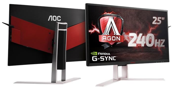 AOC präsentiert 240-Hz-AGON-G-SYNC-Monitor für ultraflüssiges Gameplay