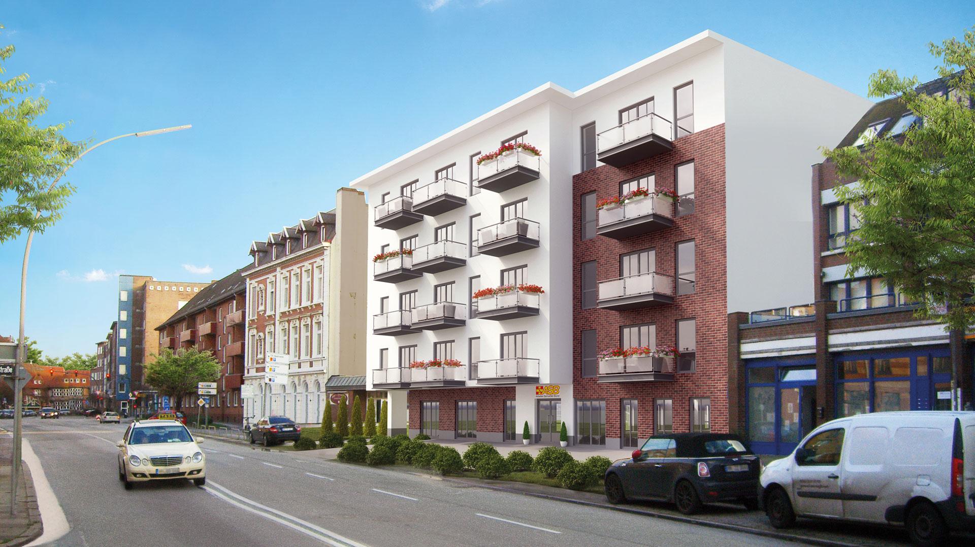 Neue Service-Wohnungen in Hamburg Bergedorf
