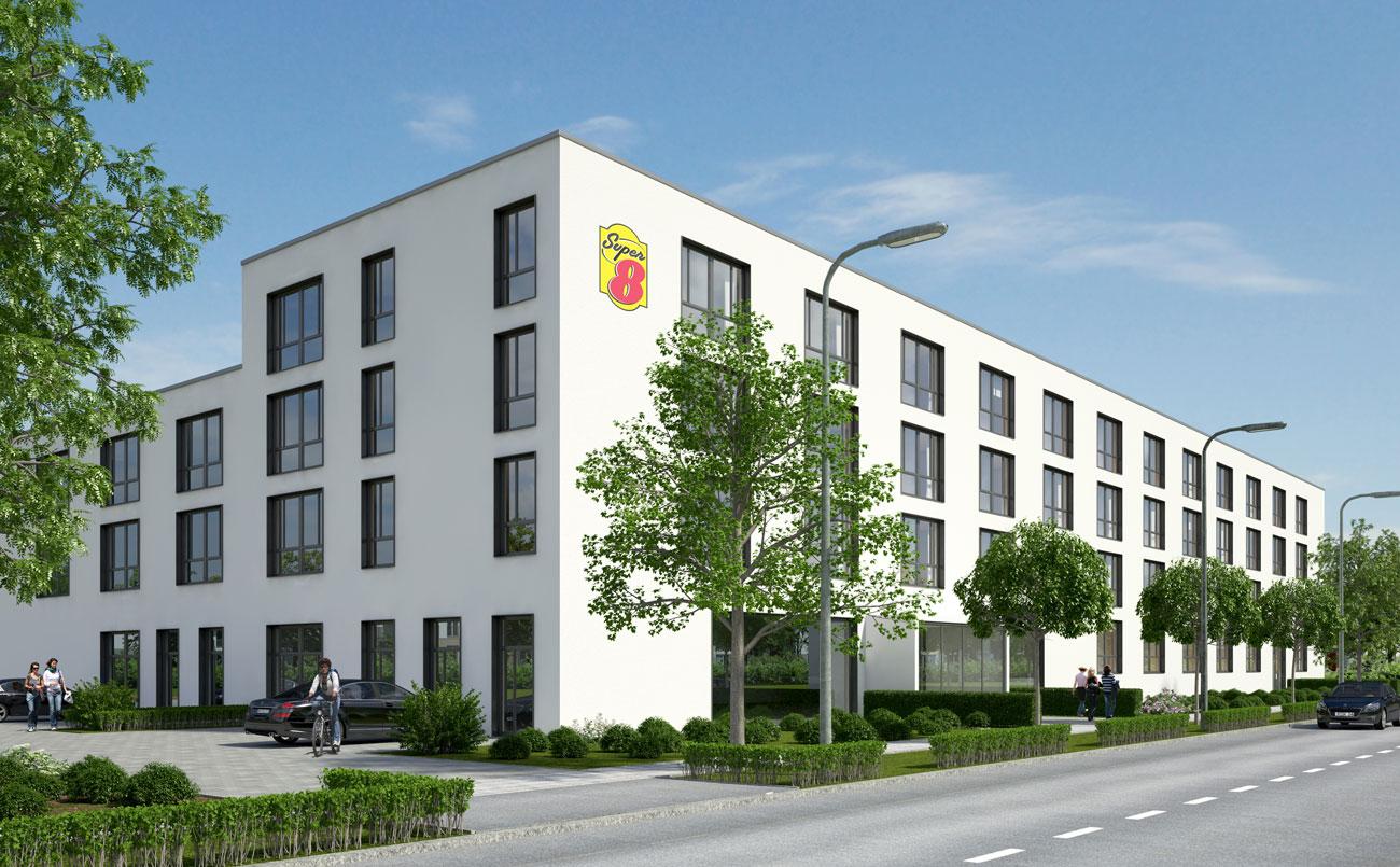 Dresden erhält Super 8 Hotel