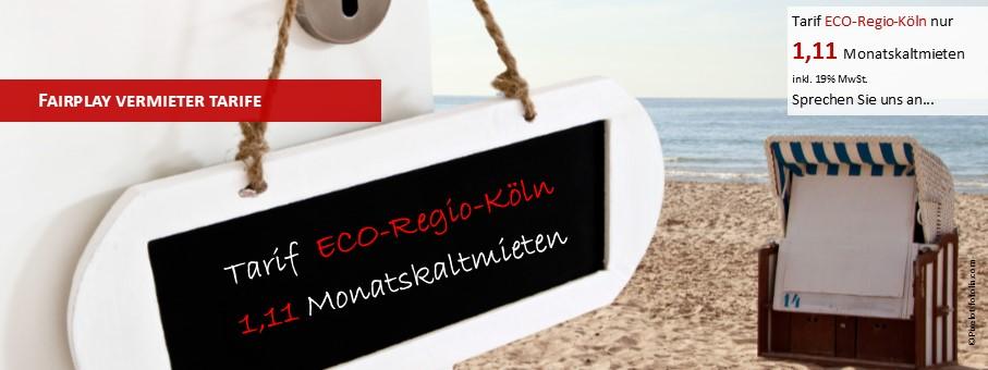 ECO-Regio-K#xF6ln - der neue Tarif f#xFCr Vermietungen