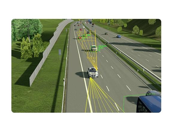 MSC gibt Gas bei der Simulation des autonomen Fahrens