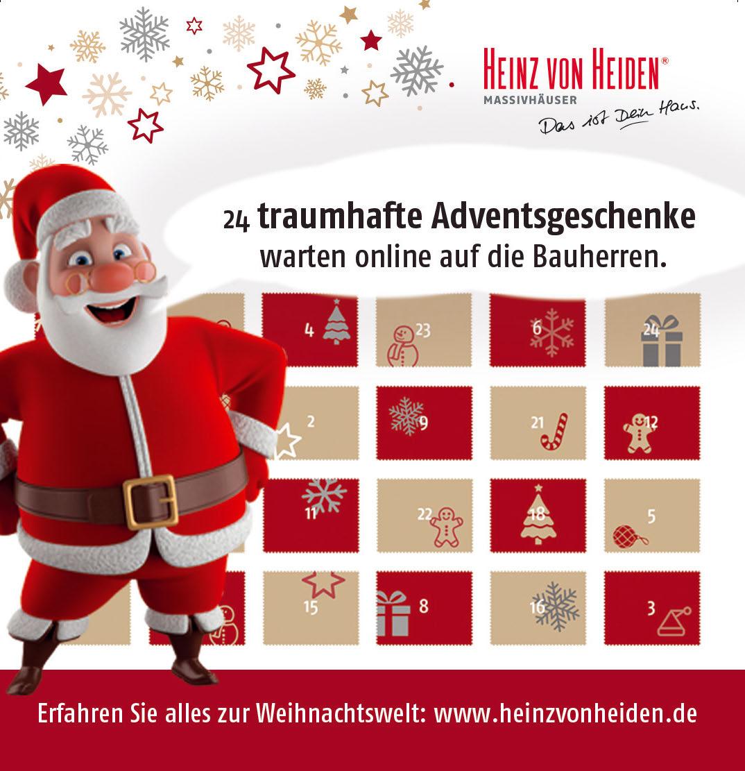 Willkommen in der Heinz von Heiden-Weihnachtswelt