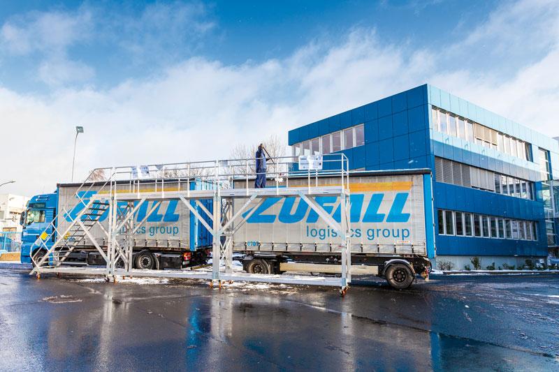Original KRAUSE Eisfreigerüst-System: Maximale Sicherheit für die ZUFALL logistics group