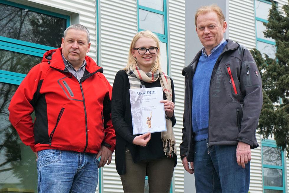 SSB Stark Stahlbau für großen Preis des Mittelstandes nominiert