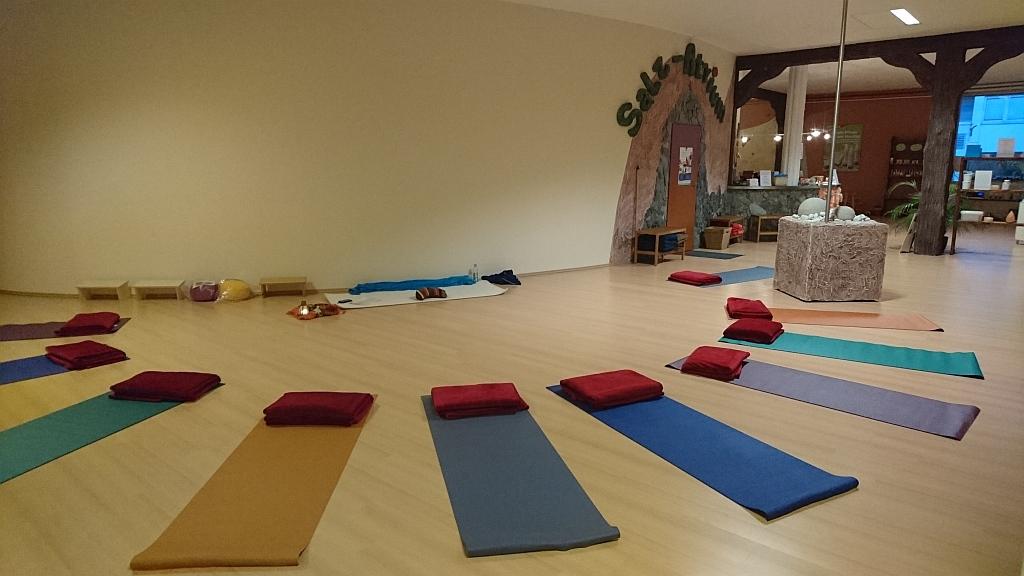 Mit Yoga-Kurs in das neue Jahr starten