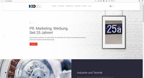Kundenfreundlich, kompakt und übersichtlich: ICD relauncht Webauftritt