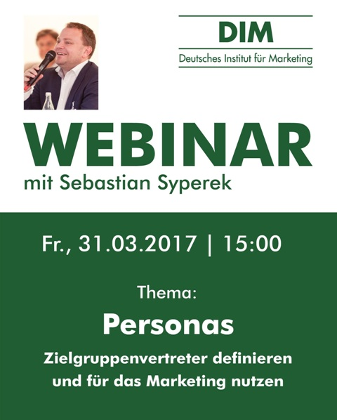 DIM: Live-Webinar zum Thema Personas