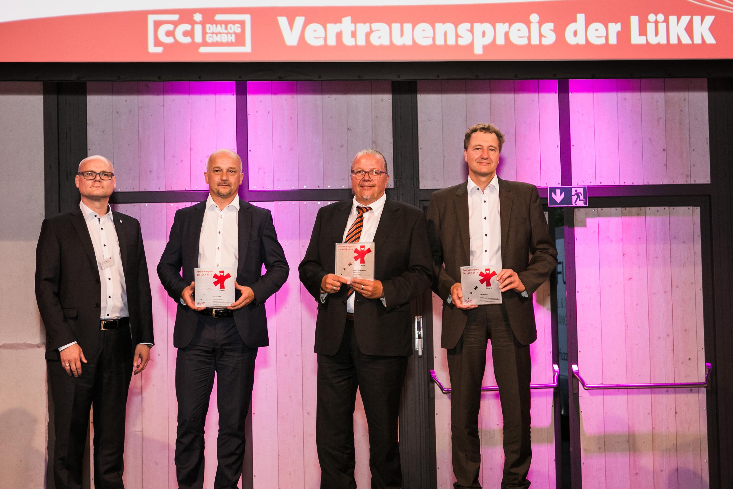 E.W. Gohl GmbH gewinnt Vertrauenspreis der LüKK