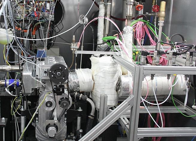 Biogasmotor für Blockheizkraftwerke wird optimiert