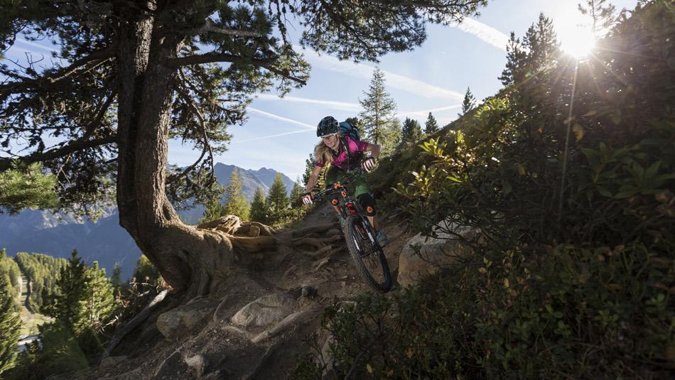 Mountainbike Wochenende in Sölden