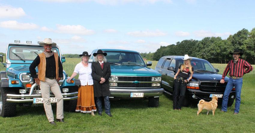 Cowboys, Party und Boliden