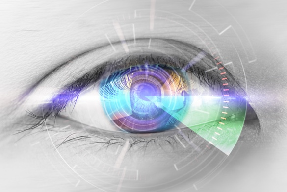 Kunstlinsen mit Nah-Fern-Funktion bei Grauem Star