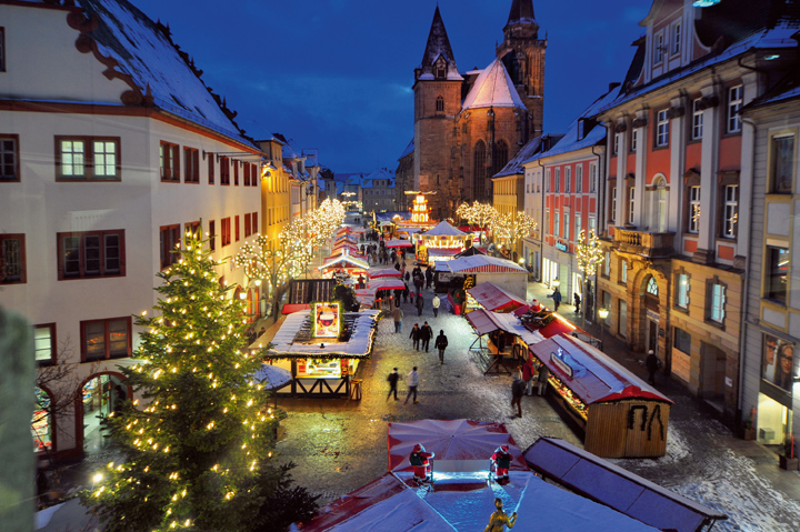 Lichter- und Winterglanz in Mittelfranken