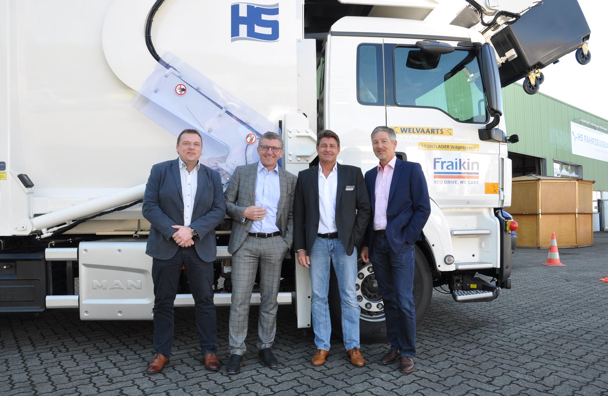 Fuhrparkmanagement: Fraikin und HS Fahrzeugbau verstärken Schulterschluss