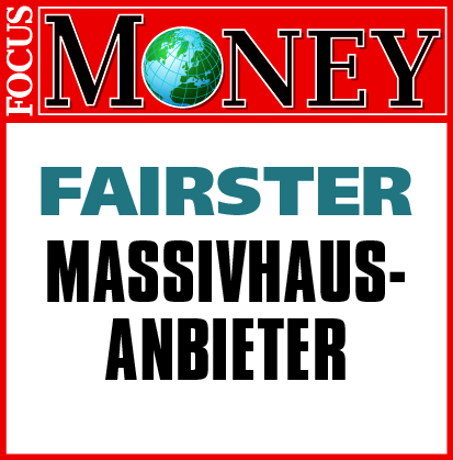 "ARGE-HAUS ""Fairster Massivhausanbieter 2016"""