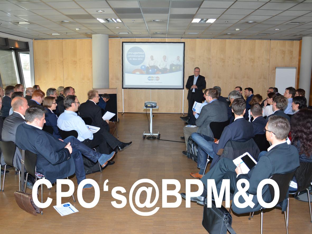Jahrestagung CPO's@BPMampO 20.03.15 K#xF6ln: Prozessmanagement. Effektiv. Verankert.