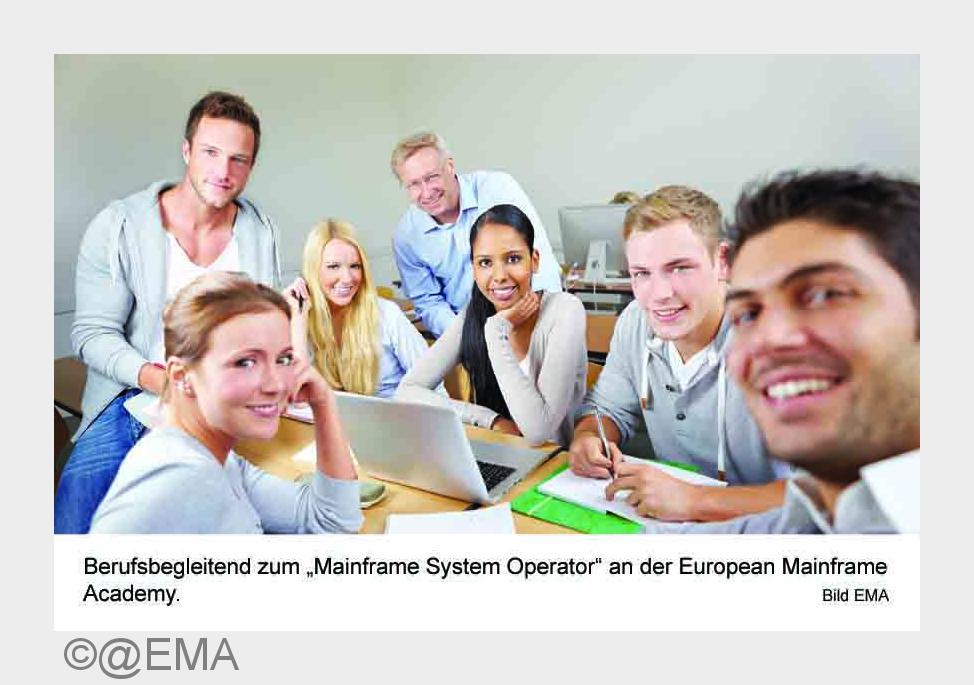 Karriere: Berufsbegleitend zum ''Mainframe System Operator''