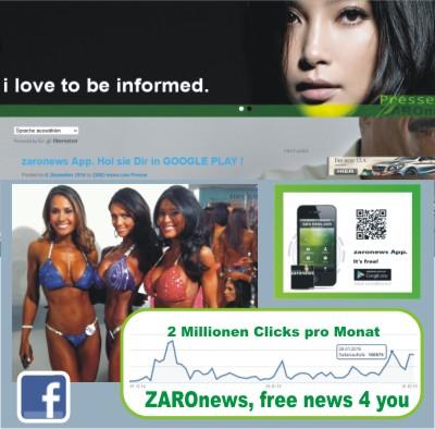 ZAROnews, freie, unabh#xE4ngige Presse auf Erfolgskurs