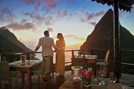 Nicht nur am Valentinstag die beliebteste Honeymoon Destination in der Karibik