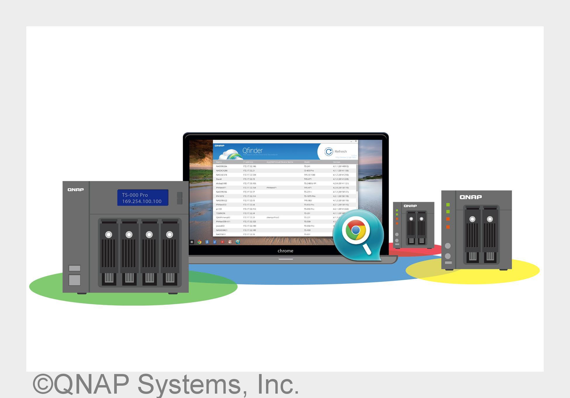 QNAP bietet erstmals App unter Google Chrome