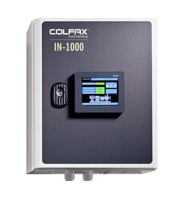 Intelligente Pumpen#xFCberwachung von Colfax Fluid Handling