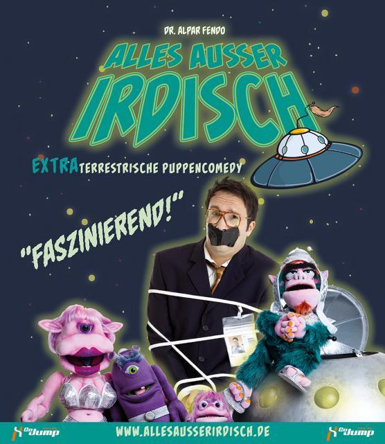 ALLES AUSSER IRDISCH - PREMIERE 2015 im Theater O-TonArt in Berlin