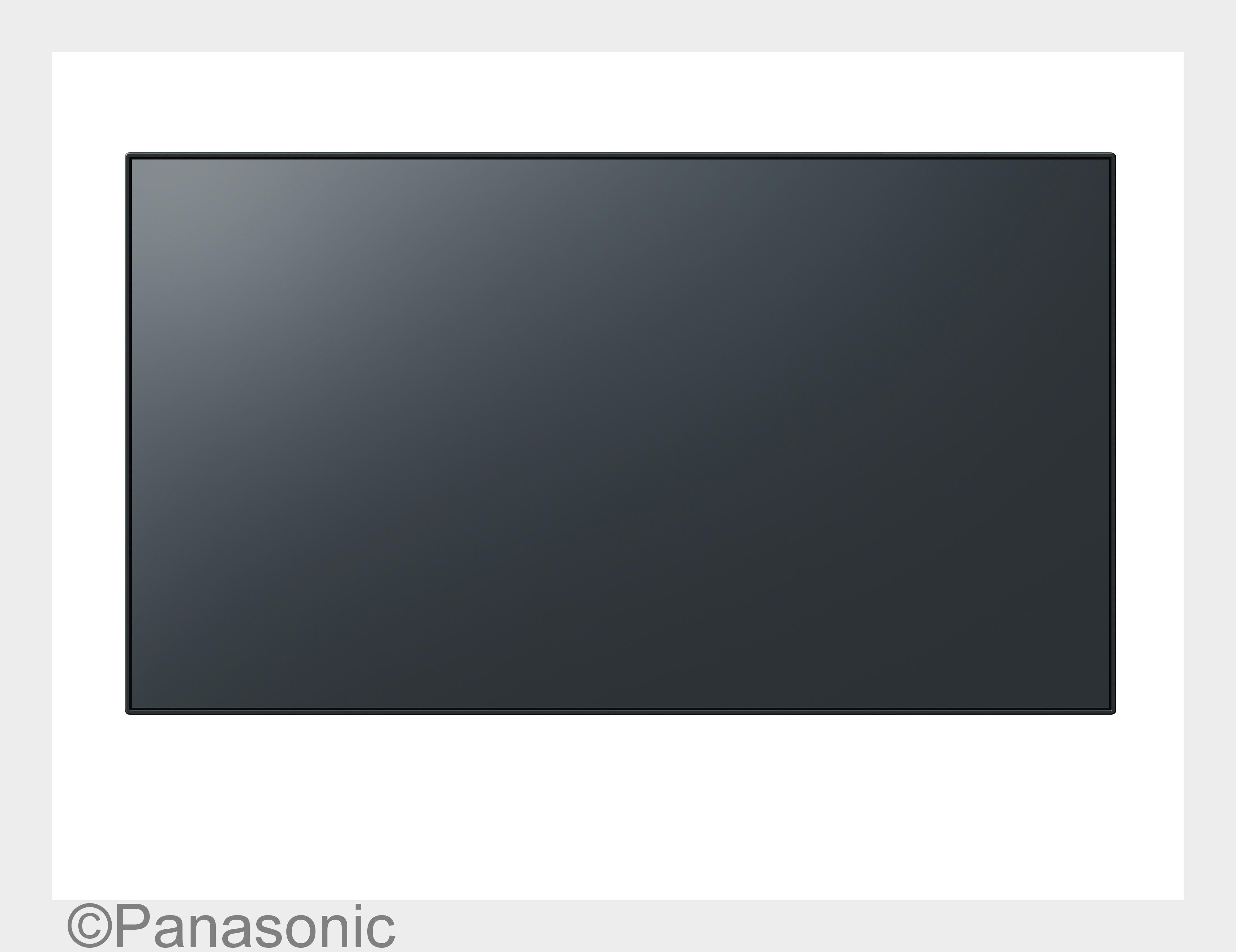 Neue Panasonic Displays mit erweiterten Bilddiagonalen, schmaleren Rahmen und besserer Konnektivit#xE4t