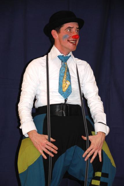 Clown Humor Komik im  Kulturzentrum Schloss Borbeck, Essen,