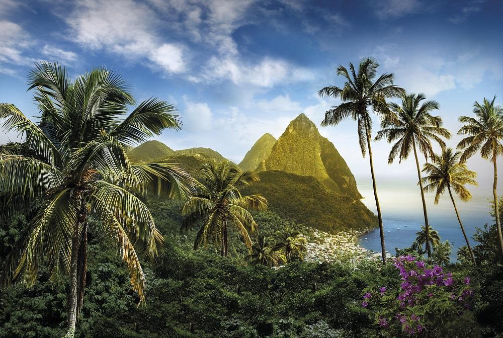 Immer mehr G#xE4ste reisen nach Saint Lucia