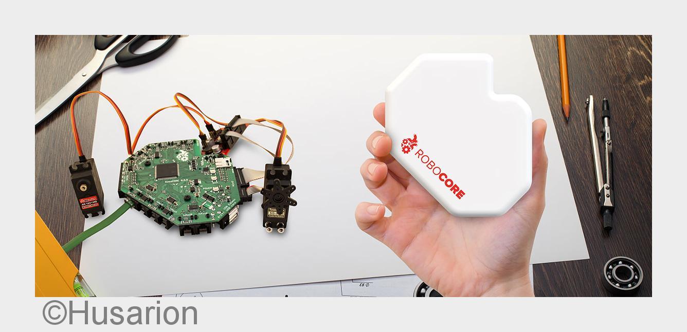 Husarion launcht Kickstarter Kampagne f#xFCr ein DIY-Roboter Modul