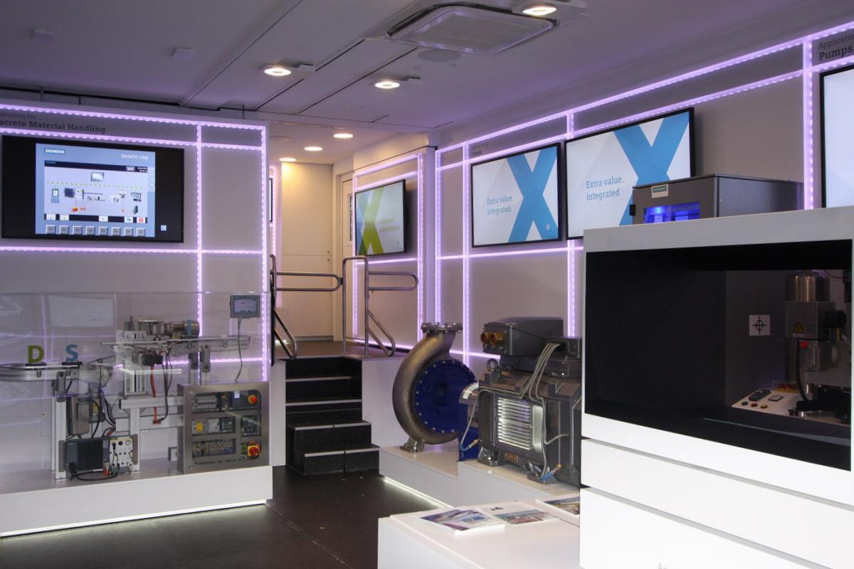 IDS Roadshow Truck f#xFCr Siemens auf Europa-Tour