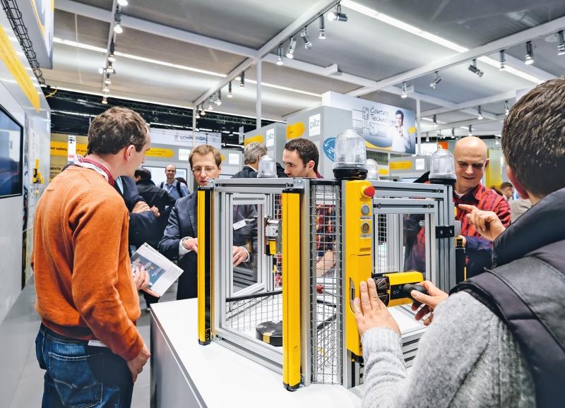 Sichere Automatisierungsl#xF6sungen auf der Hannover Messe 2015