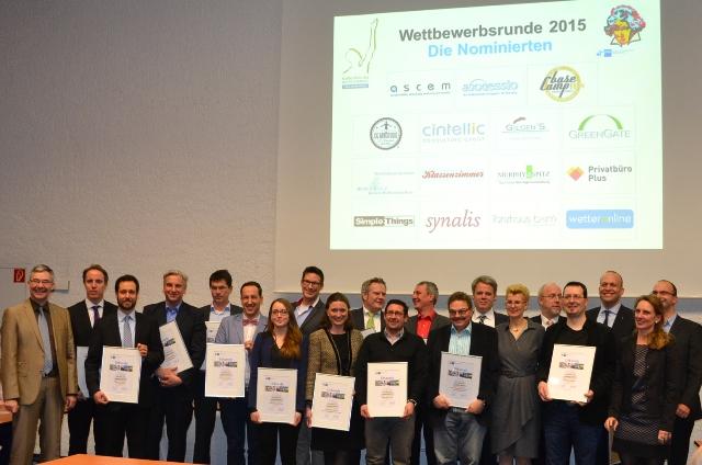 15 Unternehmen pr#xE4sentieren sich beim Auftakt zum ''Gro#xDFer Preis des Mittelstands'' und ''Ludwig''