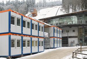 HKL beim FIS Skisprung Weltcup in Willingen